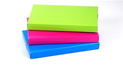 Gekleurde brievenbusdoosjes
