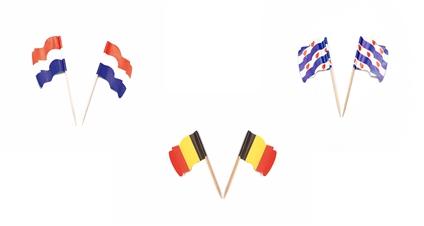 Vlagprikkers / Prikkers met vlag
